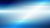 Abstract blue light and shade creative technology background. Vector illustration. - 228266282