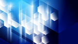Abstract blue light and shade creative technology background. Vector illustration. - 228268050