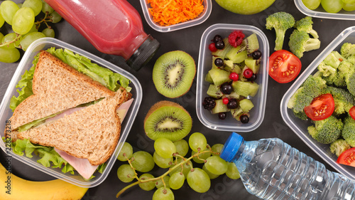 healthy lunch concept - 228273218