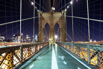 landscape of brooklyn bridge