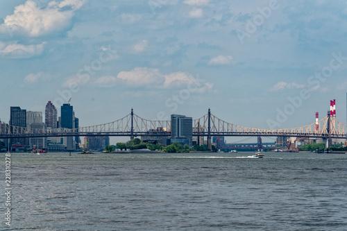 Fototapeta Ed Koch Queensboro Bridge w Nowym Jorku