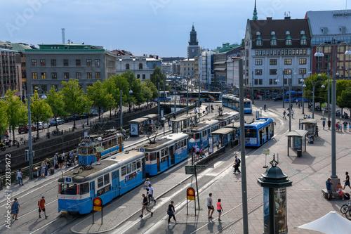 canvas print picture Göteborg