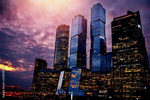 Moscow city International Business Center