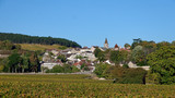 Typical village in french Burgundy