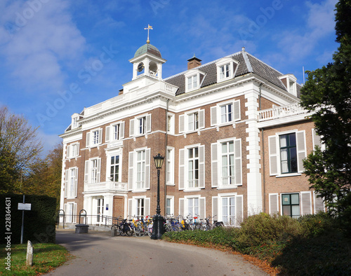 Huys Clingendael, a 17th-century manor house and surrounding parkland just outside The Hague, Netherlands, in the municipality of Wassenaar.