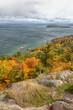 Autumn on Sugarloaf Mountain in Marquette Michigan