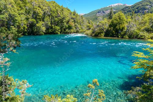 Los Alerces National park in Patagonia, Argentina