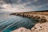 Cyprus coastline near Cape Greco   - 228390629
