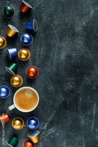 Wall mural Cup of espresso