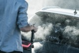 Vehicle Cleaning in Car Wash - 228403815
