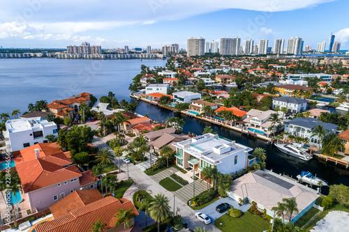 Fridge magnet North Miami View
