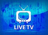 Live tv midnight blue prime background - 228439613