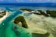 Leinwanddruck Bild - Kabira Bay in ishigaki island of Japan