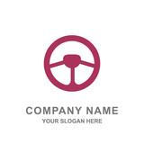 Car Steering Logo Vector