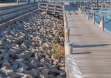 Steg in einem Yachthafen © GM Photography