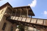 Lugano; Bergstation und Spannturm der stillgelegten Standseilbahn Funicolare degli Angioli - 228487285