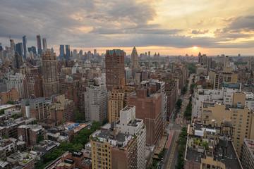 Manhattan Skyline June Sunset © Scott