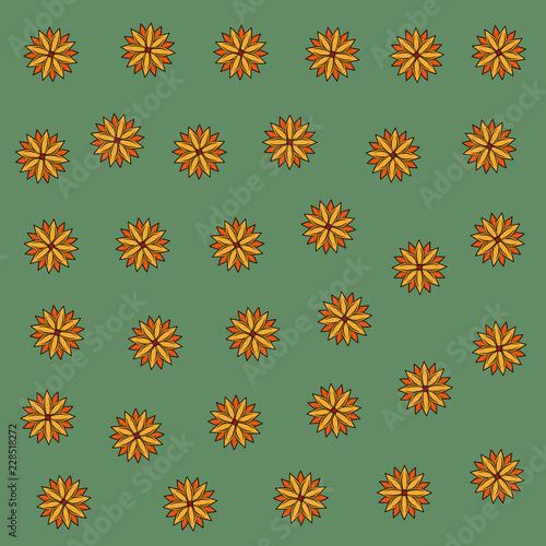 Flowers background pattern - 228518272