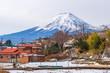 Winter of Kawaguchiko,Fuji Mountain,Japan. - 228520283