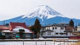 Winter of Kawaguchiko,Fuji Mountain,Japan.