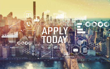 Apply today with the New York City skyline near midtown