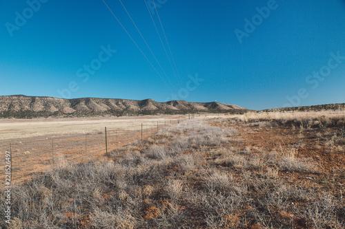 Sticker Arid landscape