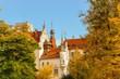 Leinwanddruck Bild - Schloss Boitzenburg in der Uckermark bei Templin in Brandenburg