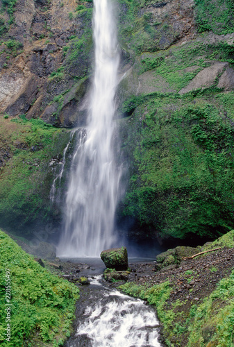 waterfall in forest - 228555497
