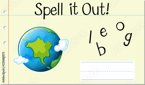 spell english word globe buy photos ap images detailview
