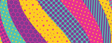 Abstract colorful geometric design. Material design background. Vector illustration.