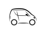 simple symbol mini car