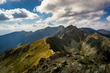 A beautiful view of the Western Tatras from Placlivy Rohac.