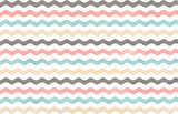Watercolor wavy striped background.