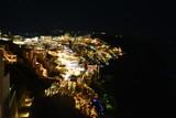 Fira Santorini Grèce de nuit - Fira by night Santorini Greece