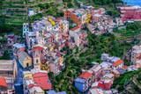 Picturesque town of Manarola, Liguria, Italy - 228731852