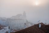 Foggy sunrise in Lisbon. Portugal - 228742816