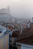 Foggy sunrise in Lisbon. Portugal - 228742862