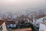 Foggy sunrise in Lisbon. Portugal - 228743060