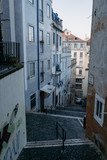 Narrow street in Lisbon. Portugal - 228743233
