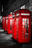 British phonebooths in London