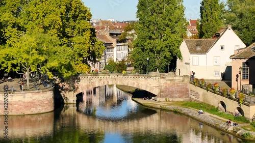 Fototapeta Landscape of the famous old district