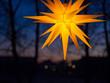 Leinwanddruck Bild - Jahreszeit - Adventszeit - Weihnachtsstimmung