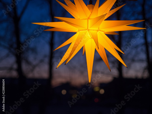 Leinwanddruck Bild Jahreszeit - Adventszeit - Weihnachtsstimmung