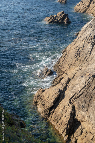 Côte rocheuse de l'océan atlantique, Quiberon - 228832284