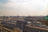 view of the Paris roofs