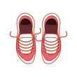 shoes for practice sport isolated icon