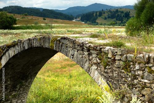 Fototapeta Old Roman bridge