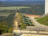 Festung Königstein im Herbstlicht - 228979407