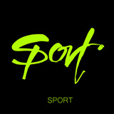sport lettering template