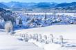 winterliche Idylle im Oberallgäu bei Burgberg